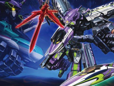 Evangelion Unit-01, Bullet Train Merge into Seriously Weird Robot
