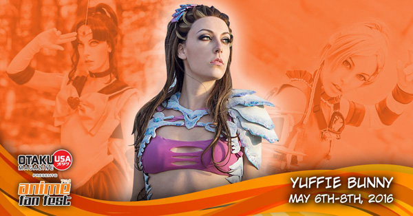 Cosplayer YuffieBunny Joins Anime Fan Fest 2016's Guest List