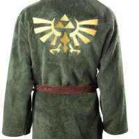 Legend of Zelda Bathrobe Looks Pretty Darn Luxurious