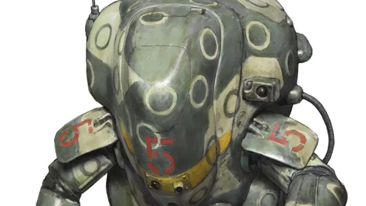 Kow Yokoyama's Model Kit Mecha Epic Ma.K to Hit Hollywood