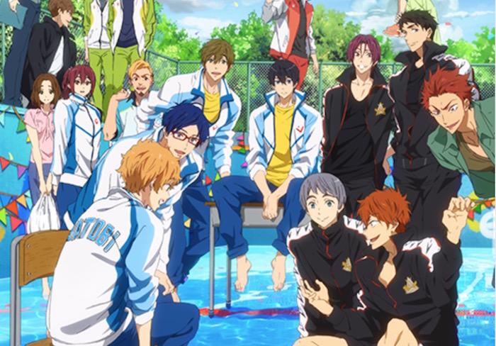 Free! Anime Movie Teases 'Next Stage'