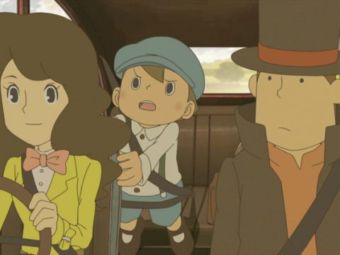 Professor Layton TV Series, New Game Coming in 2018