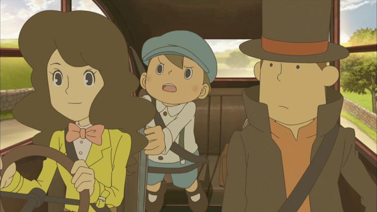 Professor Layton gets anime series