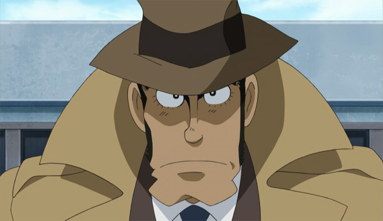Zenigata: anime's top police officer?
