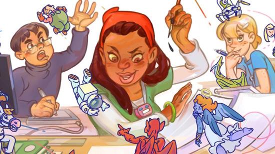 Cartooner Comic-Drawing Game Joins Mangaka on Shelves