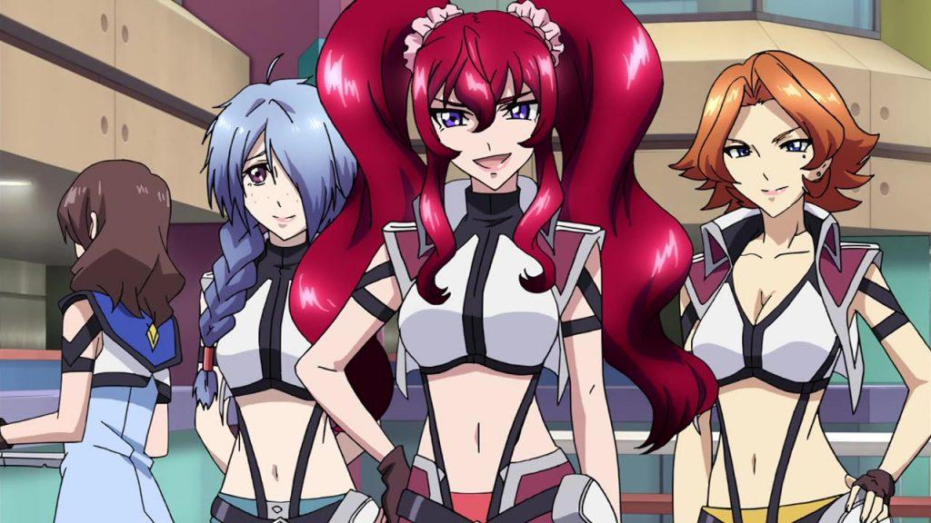 Cross Ange Anime Soars to New Heights on Blu-ray