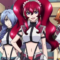 Cross Ange Anime Soars to New Heights on Blu-ray