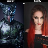 Cute Female Cosplayer Aces Ugly Male DBZ Villains