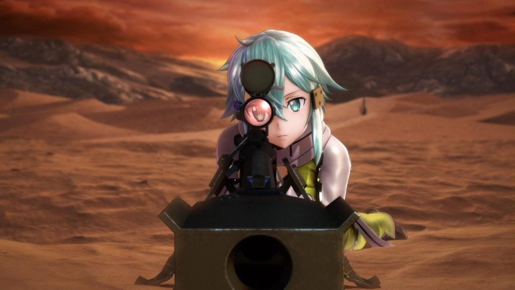 Sword Art Online: Fatal Bullet Trailer Shows More Action