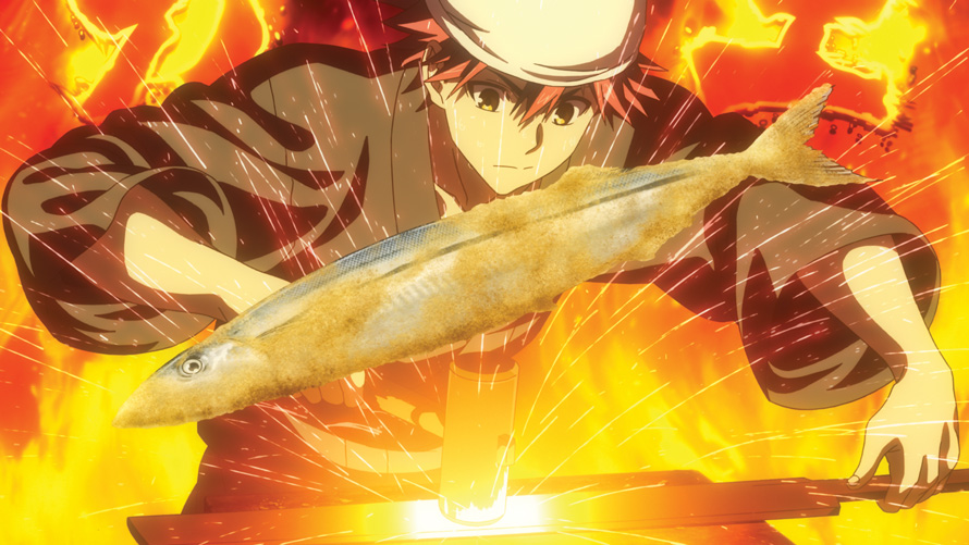 Food Wars! The Second Plate Serves Up Steaming Hot Cooking Antics