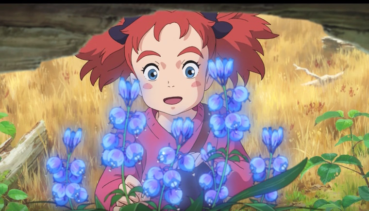 New Mary and the Witch's Flower U.S. Trailer Debuts