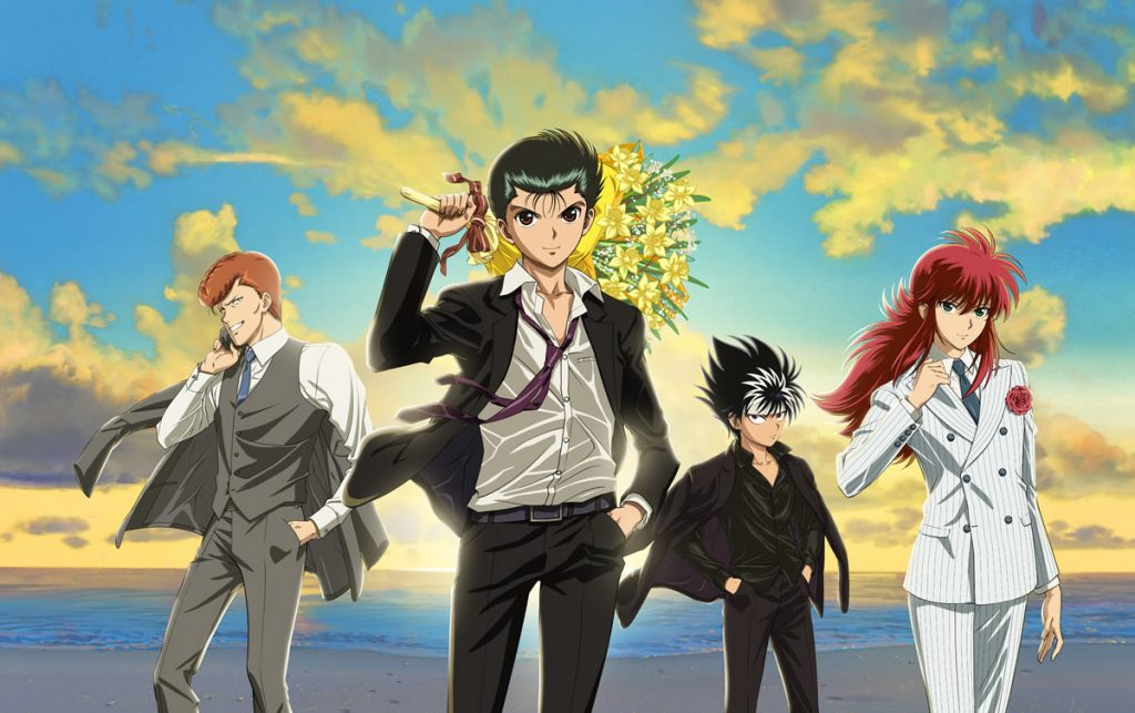 New Yu Yu Hakusho Anime Reveals More Details