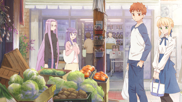 Foodie Fate Spinoff Manga Gets Net Anime Adaptation