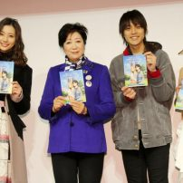 Anime Tourism Event Hosts Tokyo Governor Koike, Cosplayer Enako as SAO's Asuna