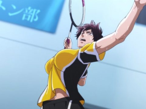 Hanebado! Anime's Badminton Action Begins on July 1