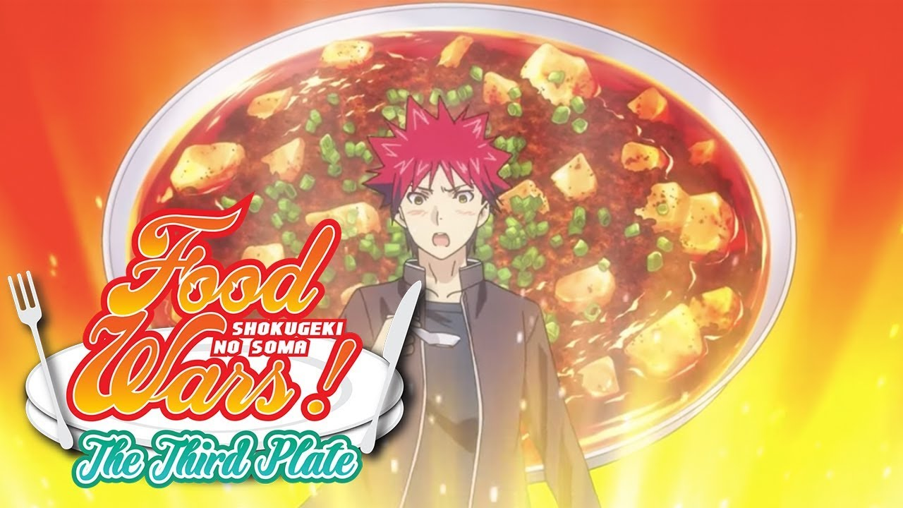 Food Wars! The Third Plate Gets Themes from Luck Life, Fo'xTails