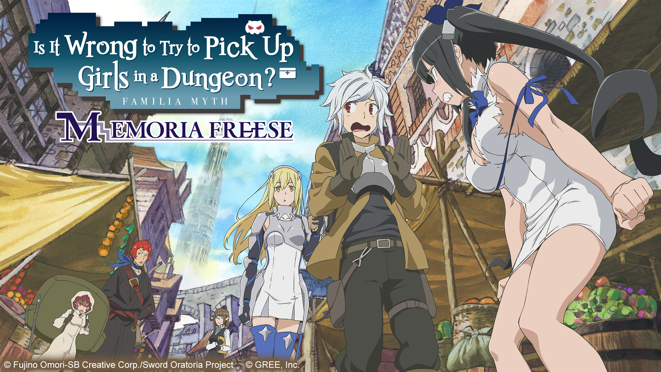 Is It Wrong to Try to Pick Up Girls in a Dungeon? Game Hits
