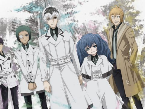 Tokyo Ghoul:re Anime Series Gets English-Dubbed Trailer
