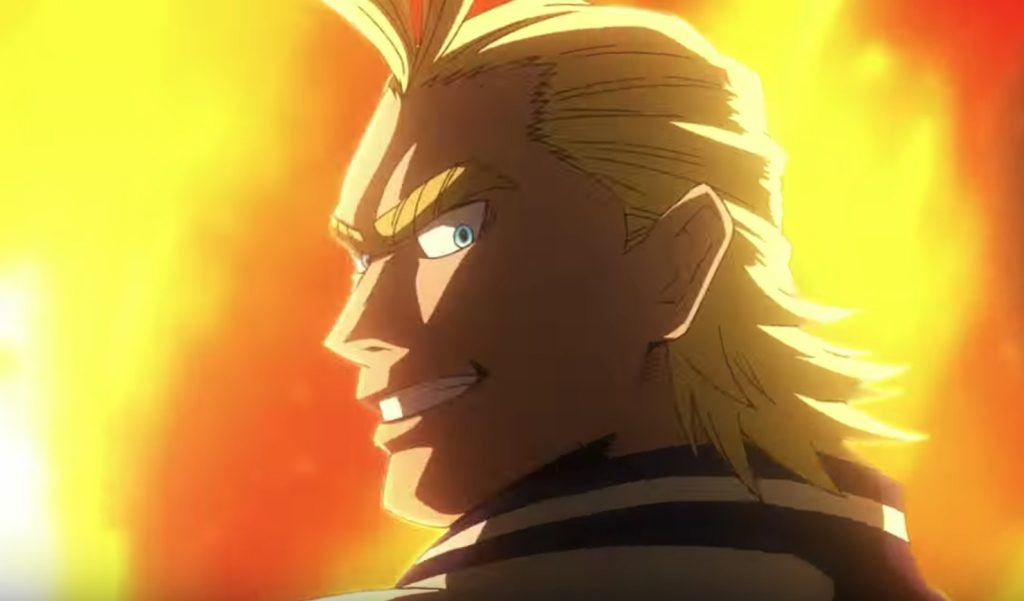 My Hero Academia Anime Film Shows Off Young All Might Design