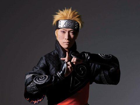 Get a Peek at Naruto Kabuki Play's Naruto, Sasuke