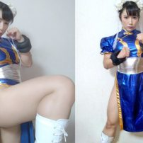 Bodybuilding Cosplayer Shows Off Authentic Chun Li Thighs