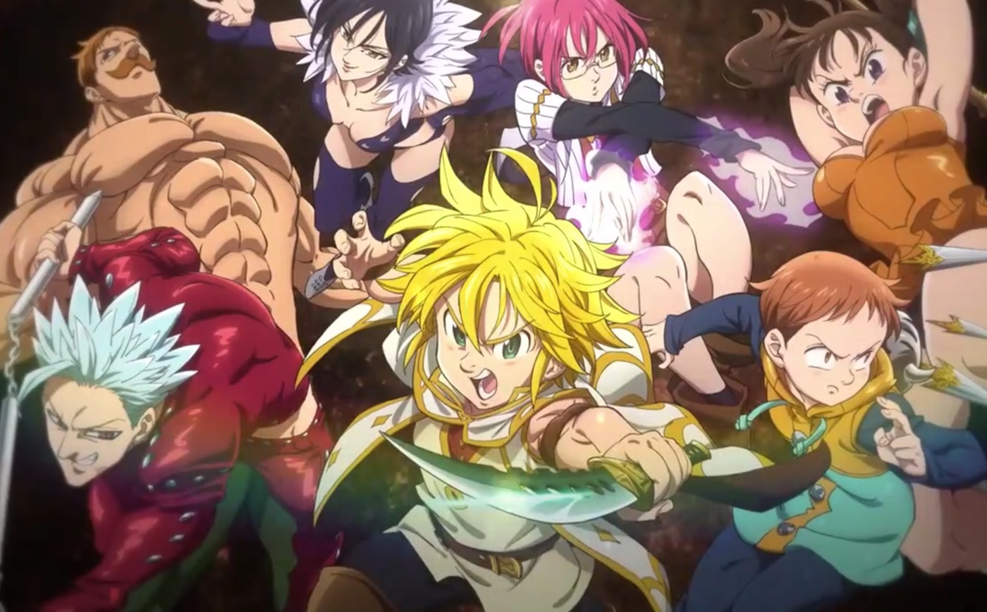 Seven Deadly Sins Prisoners Of The Sky Anime Film Previewed