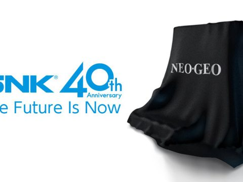 SNK Celebrates 40 Years, Teases New Game Console