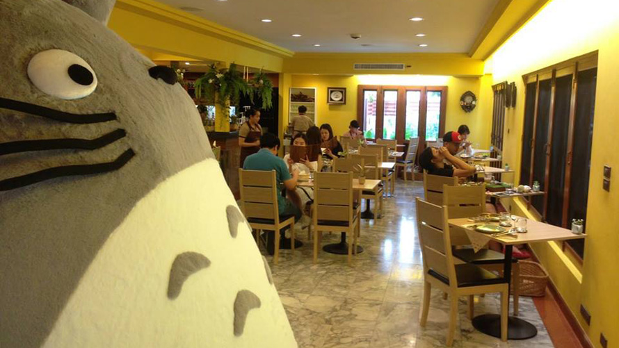 Studio Ghibli Opens Totoro-themed Restaurant in Thailand