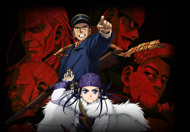 Golden Kamuy Anime's Second Season Begins on October 8