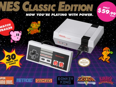 NES Classic Edition Gets Rerelease June 29