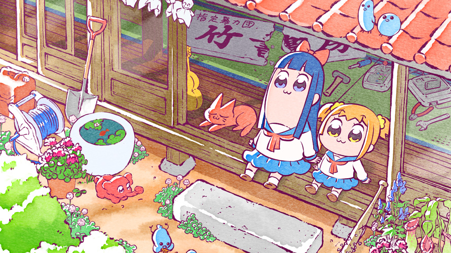 Pop Team Epic TV Special Heads to Crunchyroll on April 1