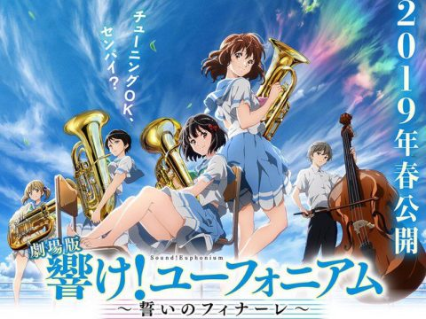Sound! Euphonium: Chikai no Finale Film's Key Visual, Details Revealed