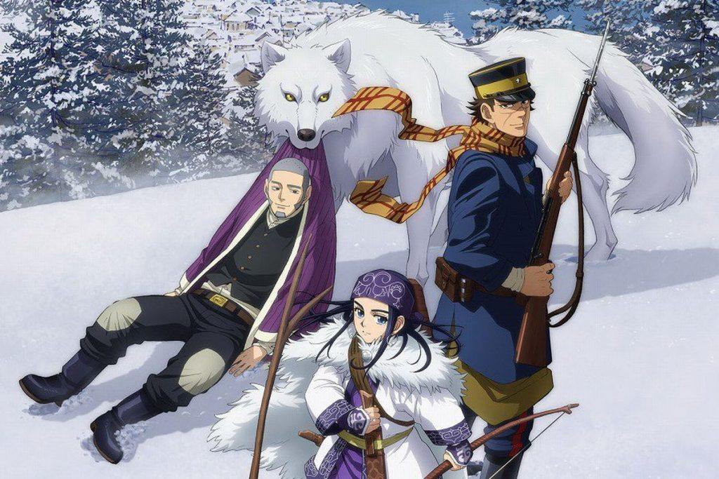 Golden Kamuy Anime Lines Up Season 2 for October
