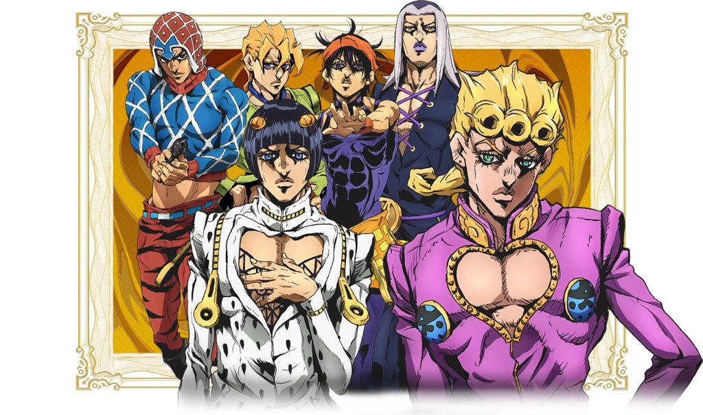 JoJo's Bizarre Adventure Part V Gets Anime Adaptation