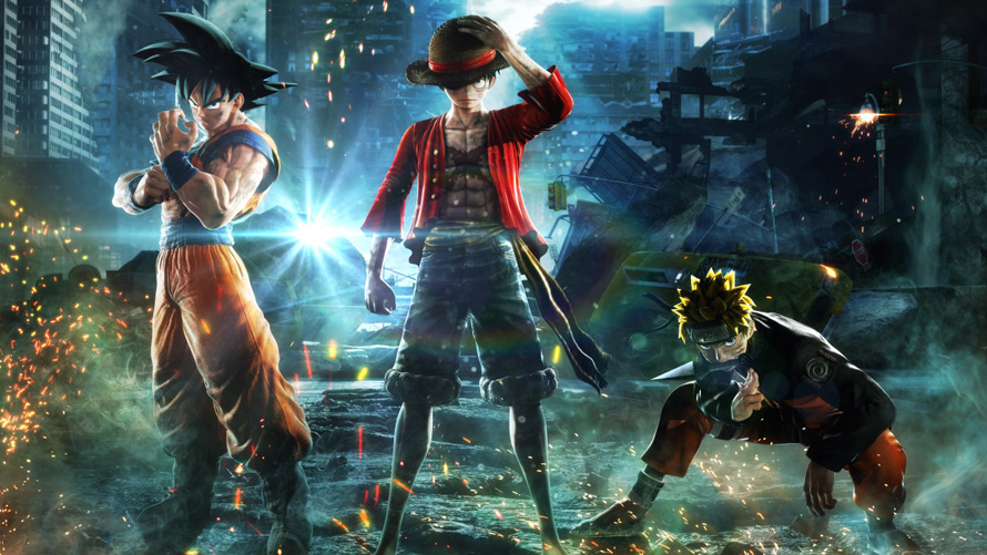 Dragon Ball, Naruto, Death Note and More Face Off in Jump Force