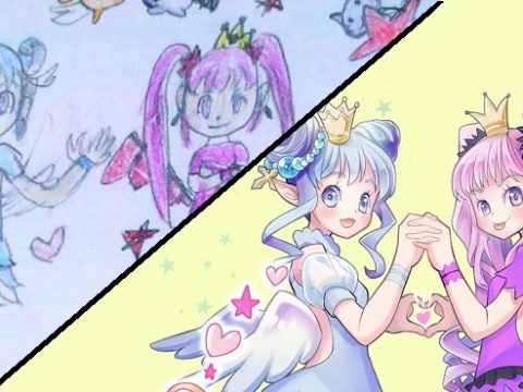 Japanese Mom Turns Daughter's Drawings Into Pro-level Anime Art
