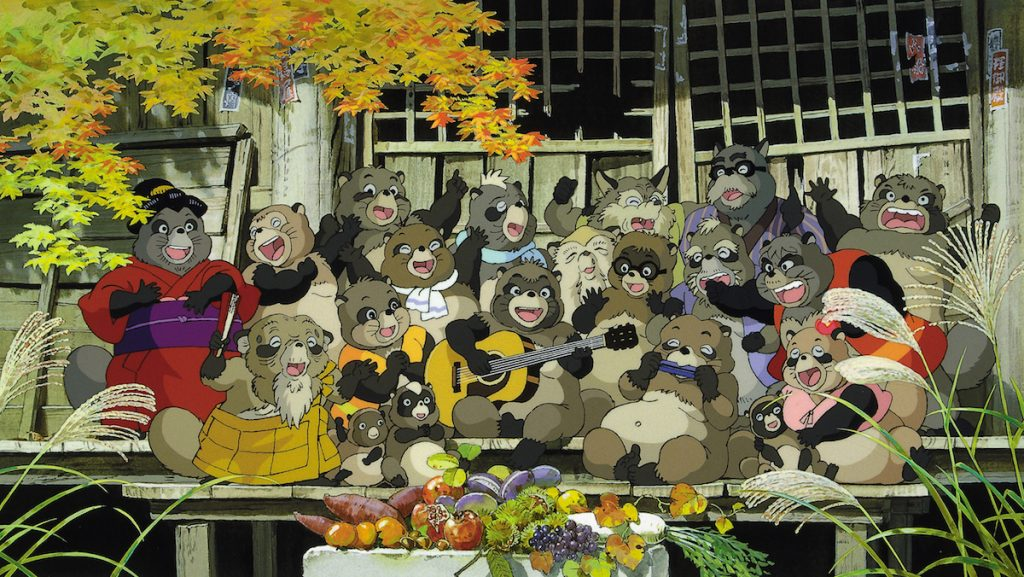 Ghibli's Pom Poko Bounds to Theaters in the U.S. on June 17