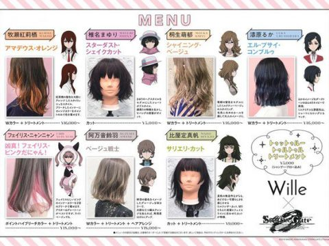 Get a Steins;Gate Haircut in Shibuya This Summer