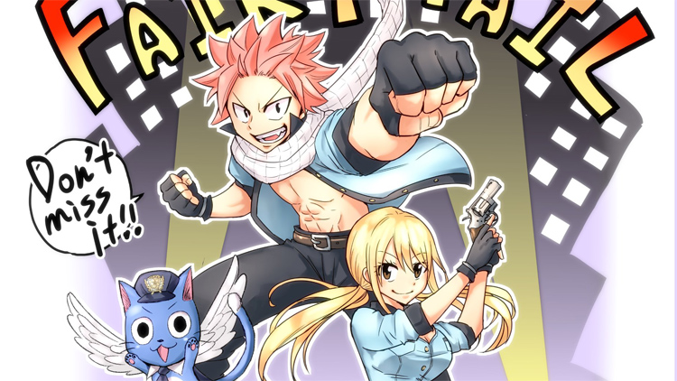 Fairy Tail Spinoff Manga Fairy Tail City Hero Revealed