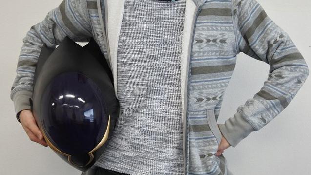 Life-Size Code Geass Zero Helmet Replica Announced