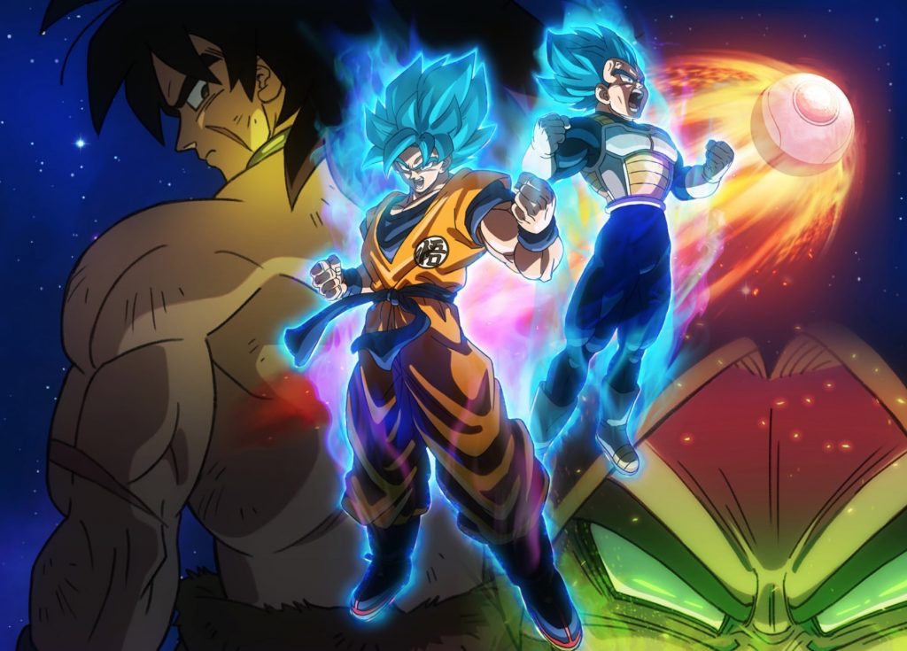 Broly Returns in Dragon Ball Super Anime Film