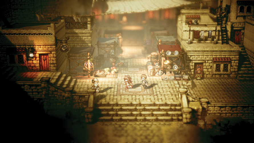 [Review] Octopath Traveler