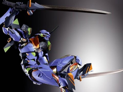 Evangelion Unit-01 Gets New High-Quality Metal Build Figure