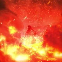 Godzilla Battles King Ghidorah in Final Anime Film Visual