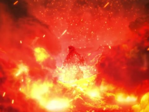 Godzilla Battles King Ghidorah in Final Anime Film Visual