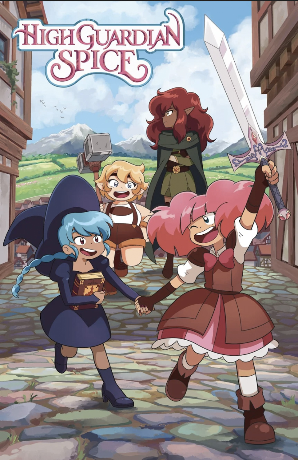 Crunchyroll Parent Company Announces Original Animation Division, High Guardian Spice Anime
