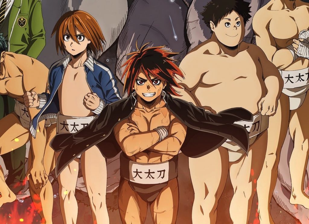 Hinomaru Zumou Anime Premieres This October