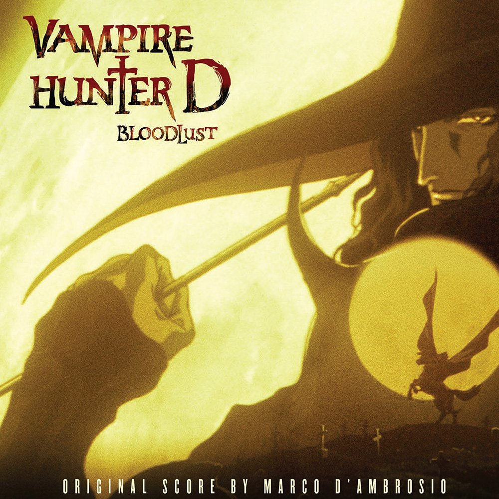 Vampire Hunter D: Bloodlust Soundtrack Hits 2-Disc Vinyl