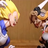 Vegeta Stars in Episode-length Stop-Motion Battle