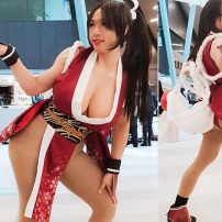 Male Cosplayer Becomes Mai Shiranui